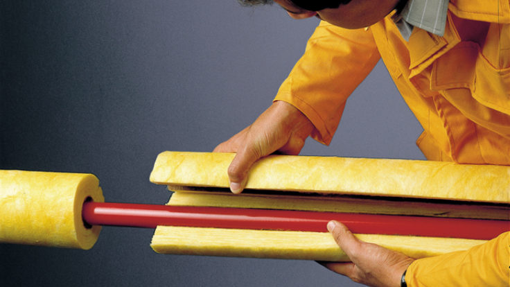 GLASSWOOL PREFABRICATED PIPE