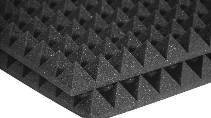 SOUND INSULATION ACOUSTIC PYRAMID FOAM