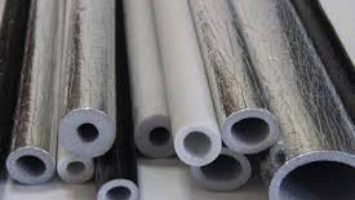 ALUMINIUM FOIL POLYETHYLENE PIPE INSULATION