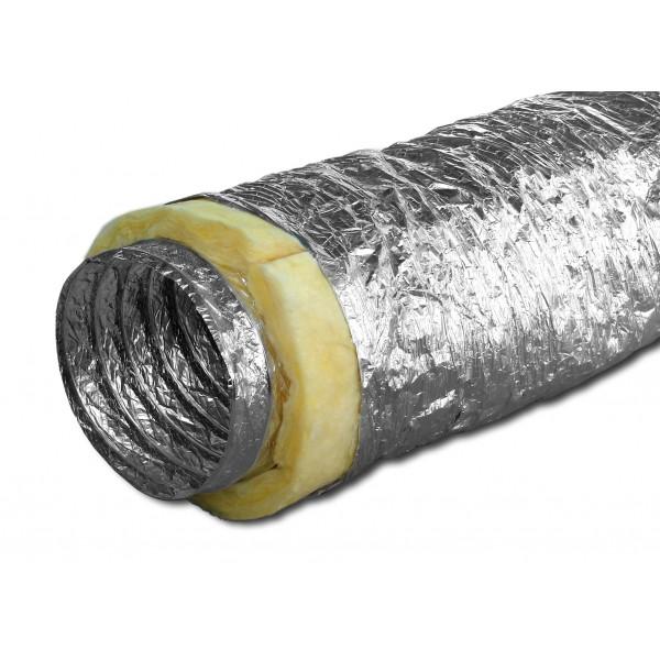 Glasswool Aluminium Flexible Duct