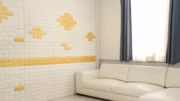 3D WALL STICKERS XPE + STRONG ADHESIVE BACKING