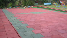 Outdoor Rubber FloorIng