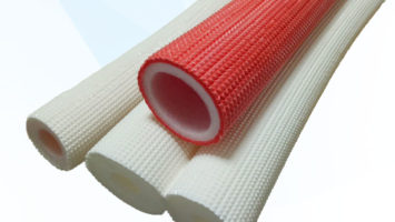 FIREPROOF THERMAL PE PIPE INSULATION
