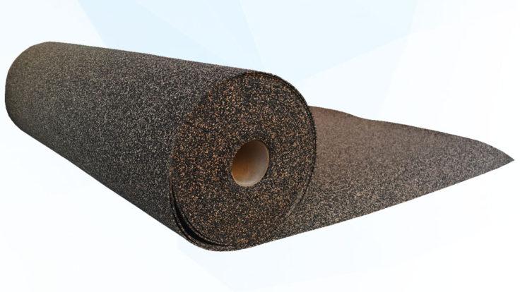 Rubber – Cork Sound InsulatIon